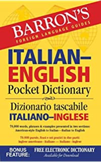 Amazon piazza with ilrn heinle learning center 4 terms 24 barrons italian english pocket dictionary 70000 words phrases examples presented in two fandeluxe Choice Image