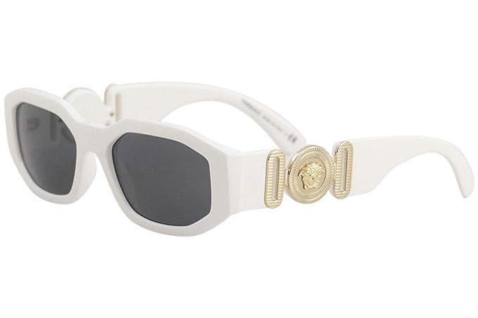 Versace 0VE4361, Gafas de Sol Unisex, White, 53