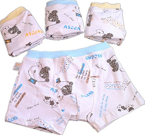 kulala little boys hand-painted kitten design Lycra cotton underwear 2 pack (4-6T) from kulala