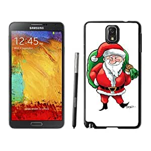 Note 3 Case,Big Nose Christmas Santa Claus Presents Bag TPU Black Samsung Galaxy Note 3 Cover Case,Note 3 Cover Case