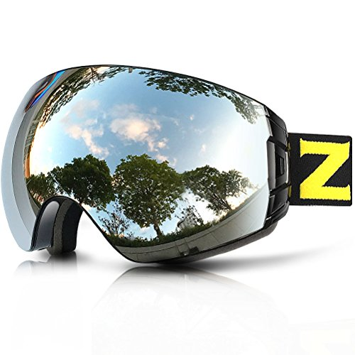 ab598a43d6f ZIONOR Lagopus X7 Ski Snowboard Goggles with Quick Lens-changing UV400 Protection  Anti-fog