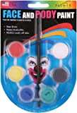 Palmer 189306 Face and Body Paint Pots, Primary