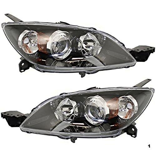 04 mazda 3 hatchback headlamps - 1