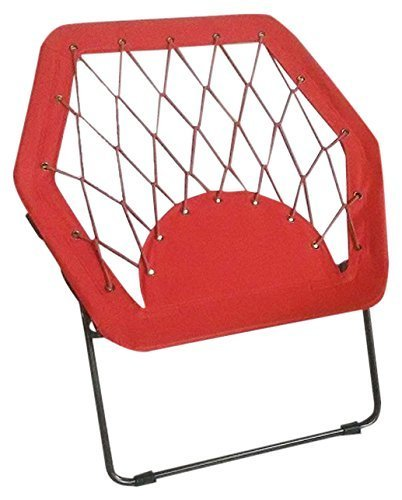 Pearington Sports Folding Portable Outdoor/ Indoor Hex Bungee Chair...