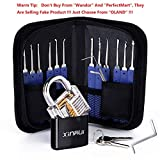 Best Lock Pick Sets - Xinrui Strong Pick and Hook Set,17-Piece(Lock Included) Review