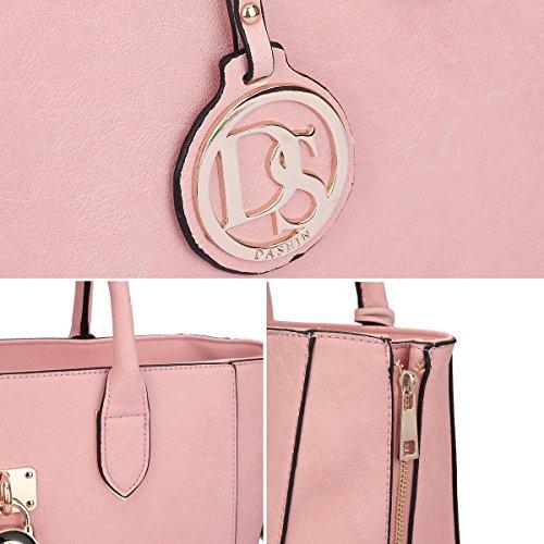 Dasein-Womens-Designer-Large-Laptop-Top-Handle-Structured-Tote-Bag-Satchel-Handbag-Shoulder-Bag-Purse