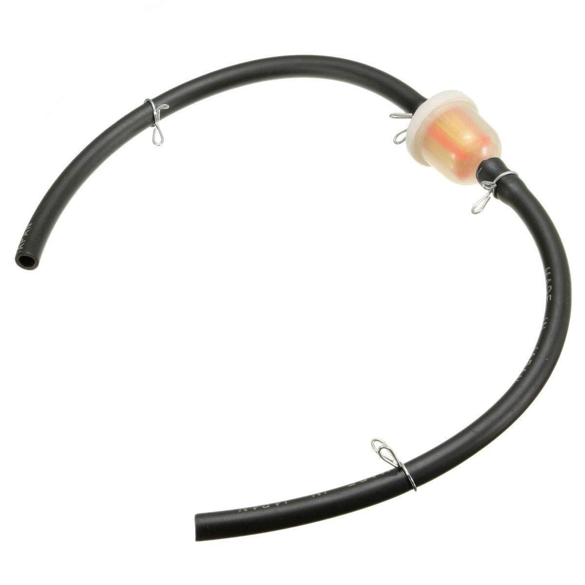 Filtro benzina compreso tubo 4-6mm per minimoto quad minicross pitbilke STI