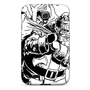 Durable Defender Case For Galaxy S4 Tpu Cover(bad Santa)