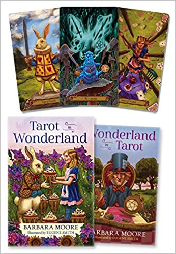 268cc0706f1cc5 Tarot in Wonderland  Barbara Moore, Eugene Smith  9780738746807   Amazon.com  Books