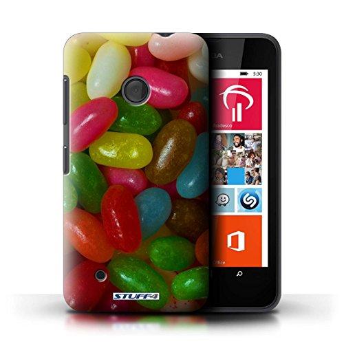 Kobalt® Imprimé Etui / Coque pour Nokia Lumia 530 / Jelly Beans conception / Série Bonbons