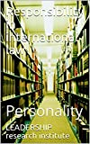 Responsibility in international law: Personality
