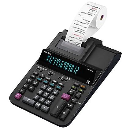 Casio FR-620RE-B-UC - Calculadora de impuestos, Color Negro ...