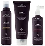 Aveda Invati Shampoo 6.7 oz Conditioner 6.7 oz Scalp Revitalizer 5 oz