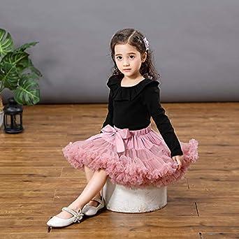 3-4 Years 8-10 Years Teenage Best Home /& Baby Girls Tutu Skirt Layers Ruffle Tulle Fluffy Petticoat Fancy Dress Ballet Discoball Birthday Party Newborn 5-7 Years