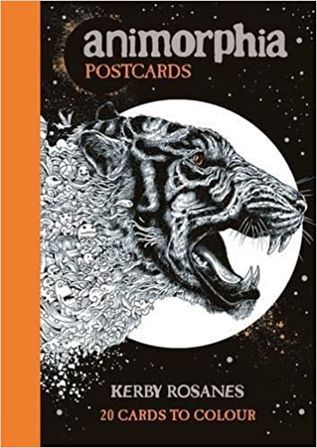 Animorphia Postcards Kerby Rosanes 9781910552247 Amazon Books