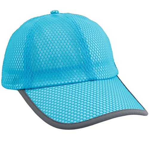 (squaregarden Baseball Cap Hat,Running Golf Caps Sports Sun Hats Quick Dry Lightweight Ultra Thin,Blue(Mesh Hat),One Size)
