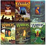 Erin Hunter warriors collection 1-6 Books set. (Into the wild, Fire and ice, forest of secrets, rising storm, a dangerous path & the darkest hour)
