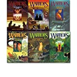 erin hunter warriors collection 1 6 books set into the wild fire and ice forest of secrets rising storm a dangerous path the darkest hour