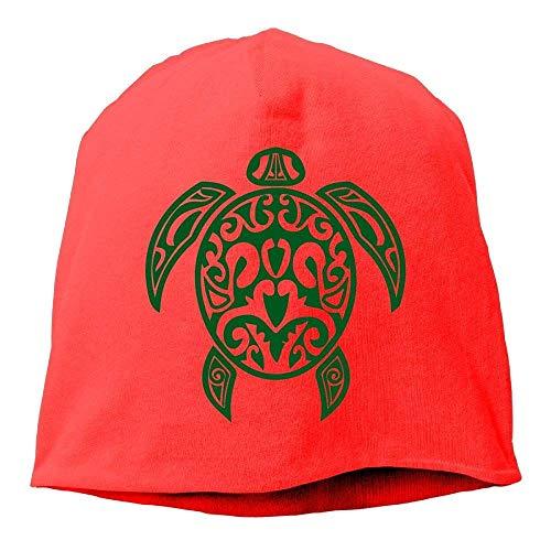 Hawaiian Sea Turtle Men Women Winter Helmet Liner Fleece Skull Cap Beanie Hat for Cycling