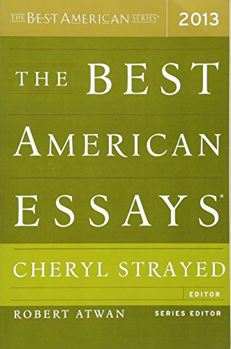 The Best American Essays 2013 (The Best American Series )