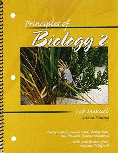 Principles of Biology 2 Lab Manual