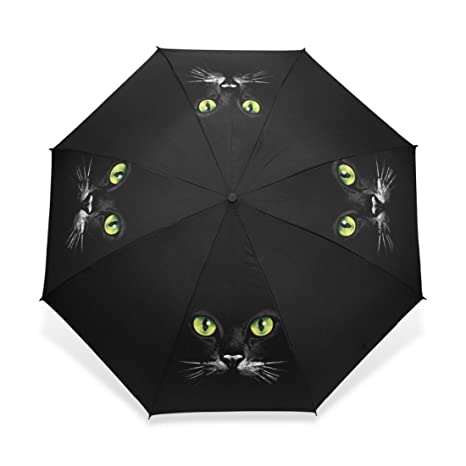 Three Foldable Custom Umbrella Custom Umbrella Women Men Guarda Chuva Compact Black Winfproof Ultra-Light