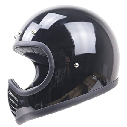 Full Face Cruiser Helmets >> Amazon Com Shfmx Adult Motorcycle Full Face Helmet Dot Certified