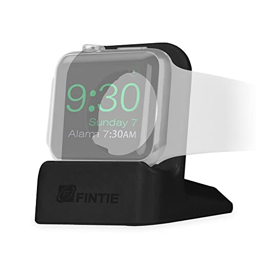 4 opinioni per Fintie Stand Per Apple Watch- Premium TPU Supporto Bacino di ricarica Station