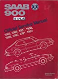 Saab 900 16 Valve Official Service Manual, 1985-1992