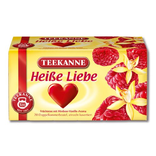 Price comparison product image 3x Teekanne Heiße Liebe (each box 20 tea bags)