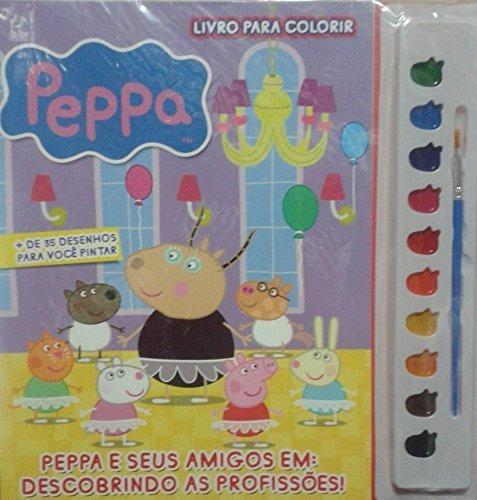 Peppa E Seus Amigos Livro Para Colorir Marianna Martins