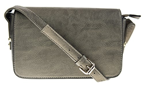Canal Collection Classic PVC Cross Body Bag (Classic Flap Leather)
