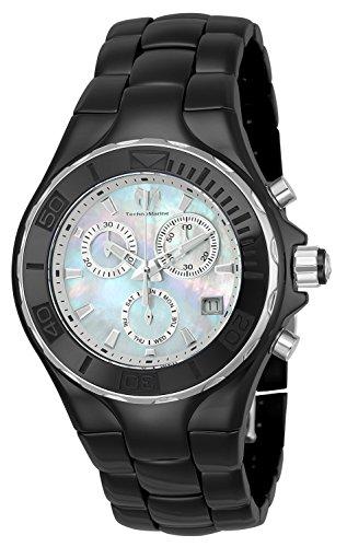 Technomarine Women's 'Cruise' Quartz Ceramic Casual Watch, Color:Black (Model: TM-115316) (Watch Cruise Chronograph)