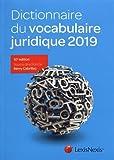 Dictionnaire du vocabulaire juridique 2019