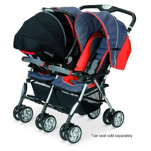 Amazon.com : Sport Twin Stroller Green : Infant Car Seat Stroller ...