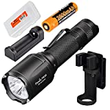 x1 org - Fenix Charger Combo Tk25 IR TK25IR 1000 Lumen LED 3000mW 850nm Infrared Tactical Flashlight w ARE-X1 Charger, 18650 Battery & LumenTac Battery Organizer