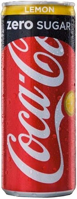 Coca-Cola Zero Sugar Lemon 25cl (pack de 24): Amazon.es: Alimentación y bebidas