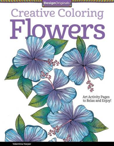 [Creative Coloring Flowers: Art Activity Pages to Relax and Enjoy!] (Halloween Costumes Gallery)