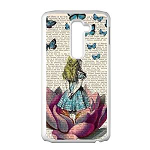 Butterflies lovely girl Cell Phone Case for LG G2