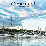Cape Cod 2020 12 x 12 Inch Monthly Square Wall Calendar, Ocean Sea Coast Massachusetts