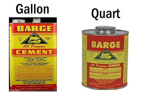 1 GALLON BARGE Cement Glue Rubber Contact Adhesive GLUE - Import It All