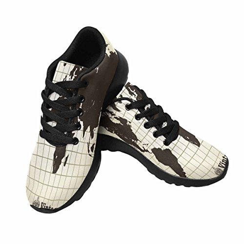 sports shoes 3fca9 2be23 Chaussures De Course De Trailprint Womensprint Footing Jogging Sports  Légers Marchant Des Baskets Athlétiques Vintage Vieille ...