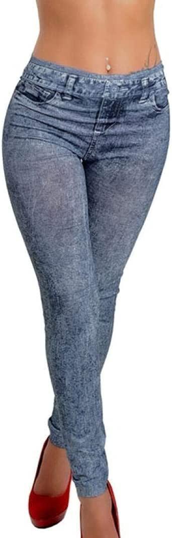 Battercake Pantalones De Mezclilla para Damas Pantalones ...