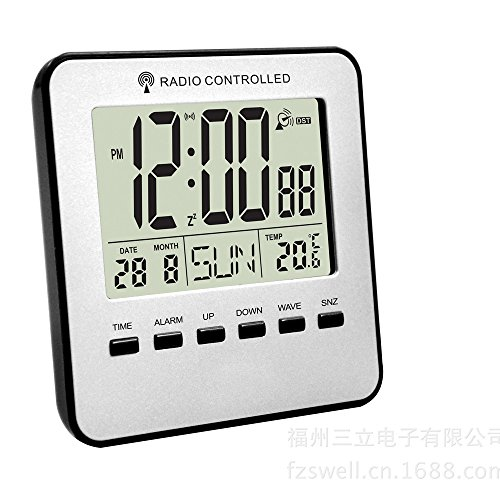 Orcbee  _Digital Weather Station Channel Thermometer Wireless Weather Monitor Radio