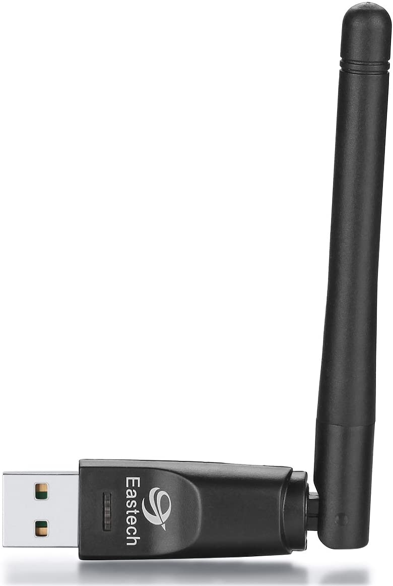 Wireless WiFi USB Dongle Stick Adapter RT5370 150Mbps for MAG 254 250 255 270 275 IPTV Set-Top Box, Jynxbox, Linkbox, Raspberry Pi, Pc Laptops Desktop, for Win7, Win8, Mac OS, Linux