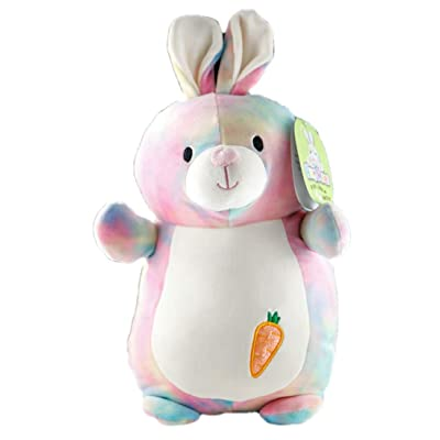 "Squishmallows Hug Mees 14"" Tie Dye Bunny - Talia: Toys & Games"