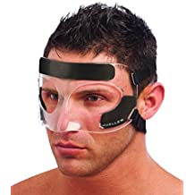 Mueller Sports Medicine Face Guard Protection from Impact injuries to Nose and Face, Clear, One Size