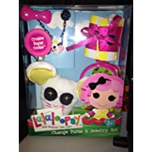 Lalaloopsy Change Purse and Jewelry Set - Crumbs Sugar Cookie