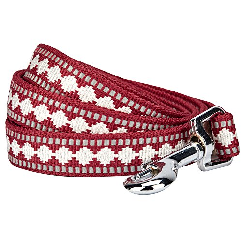 Blueberry Pet 7 Colors 3M Reflective Jacquard Dog Leash with
