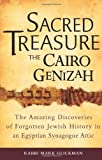 img - for Sacred Treasure The Cairo Genizah The Amazing Discoveries of Forgotten Jewish History in an Egyptian Synagogue Attic by Glickman, Mark [Jewish Lights Publishing,2010] (Hardcover) book / textbook / text book
